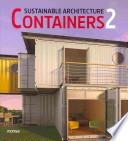 libro Containers 2, Sustainable Architecture