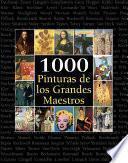 libro 1000 Pinturas De Los Grandes Maestros