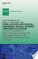libro Acceso Abierto Y Bibliotecas Digitale