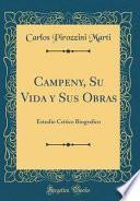 libro Campeny, Su Vida Y Sus Obras