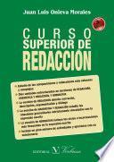 libro Curso Superior De Redacción. 3ª Edición