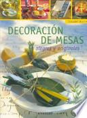 Decoración De Mesas