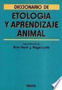 libro Diccionario De Etología Y Aprendizaje Animal