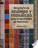 libro Directorio De Azulejos Y Mosaicos