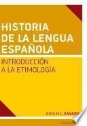 libro Historia De La Lengua Espaňola