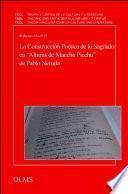 libro La Construcción Poética De Lo Sagrado En Alturas De Macchu Picchu De Pablo Neruda