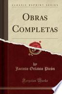 libro Obras Completas (classic Reprint)