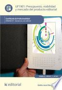 Presupuesto, Viabilidad Y Mercado Del Producto Editorial. Argn0210