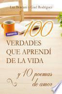 libro 100 Verdades Que Aprendí De La Vida Y 10 Poemas De Amor
