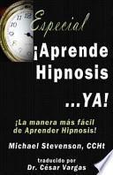libro Aprende Hipnosis