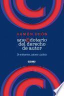 libro Anecdotario Del Derecho De Autor