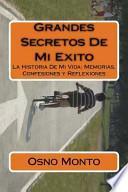 libro Grandes Secretos De Mi Exito