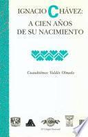 libro Ignacio Chávez
