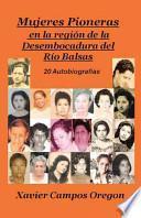 libro Mujeres Pioneras En La Region De La Desembocadura Del Rio Balsas