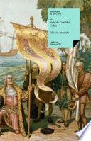 libro Vida De Cristóbal Colón
