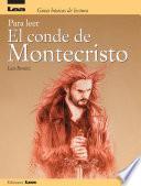 libro Para Leer El Conde De Montecristo