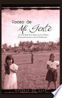 libro Voces De Mi Gente