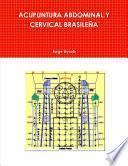 libro Acupuntura Abdominal Y Cervical BrasileÑa