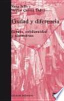 libro Ciudad Y Diferencia