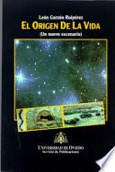 libro El Origen De La Vida