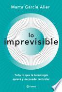 libro Lo Imprevisible