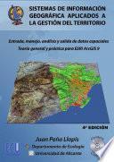 libro Sistemas De Información Geográfica Aplicados A La Gestión Del Territorio