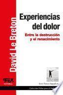 libro Experiencias Del Dolor