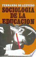 libro Sociologia De La Educacion/ Socialogy In Education