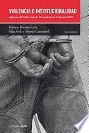 libro Violencia E Institucionalidad