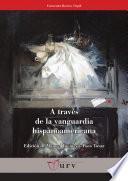 libro A Través De La Vanguardia Hispanoamericana