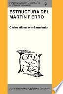 libro Estructura Del Martín Fierro