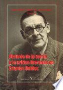 libro Historia De La Teoría Y La Crítica Literaria En Gran Bretaña Y Estados Unidos