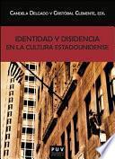 libro Identidad Y Disidencia En La Cultura Estadounidense
