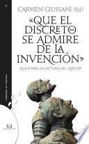 libro Que El Discreto Se Admire De La Invención
