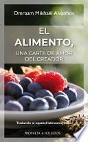 libro El Alimento, Una Carta De Amor Del Creador