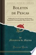libro Boletin De Pescas