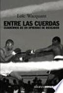 libro Entre Las Cuerdas