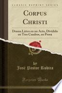 libro Corpus Christi