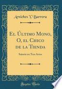 libro El Último Mono, O, El Chico De La Tienda