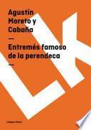 libro Entremés Famoso De La Perendeca