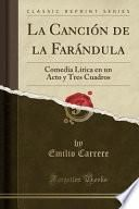 libro La Canción De La Farándula