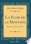 libro La Flor De La Montaña