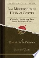 libro Las Mocedades De Hernán Cortés