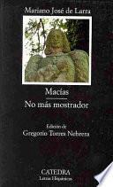 libro Macías