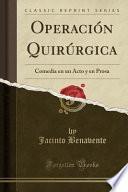 libro Operación Quirúrgica