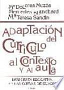 libro Adaptación Del Currículo Al Contexto Y Al Aula