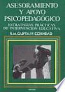 libro Asesoramiento Y Apoyo Psicopedagógico