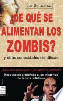 libro ¿de Qué Se Alimentan Los Zombis?