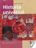 libro Historia Universal 1