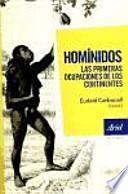 libro Homínidos, Las Primeras Ocupaciones De Los Continentes